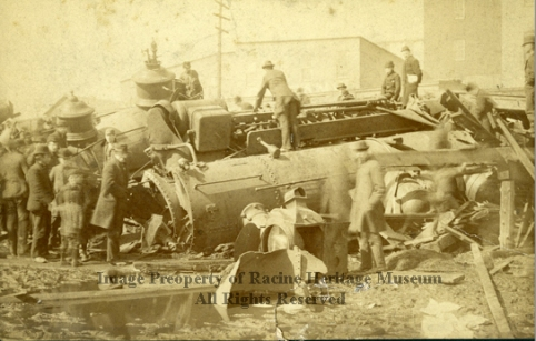 30801 Chicago and Northwestern Wreck of 1891 72 dpi watermark
