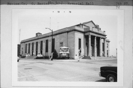 Memorial Hall, 1979